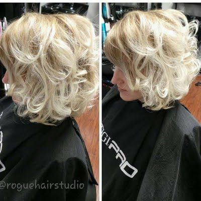 @RogueHairStudio's volume hair ROCKS fab curls made with Beauty brands gift! #MyGreatHairDay