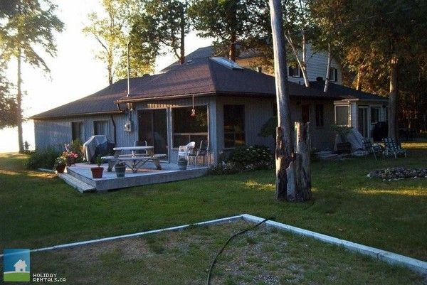 Cottage Country Listing #193138 - Waterfront 3 Bedroom Cottage in Southern Georgian Bay - Cottage Country Rentals