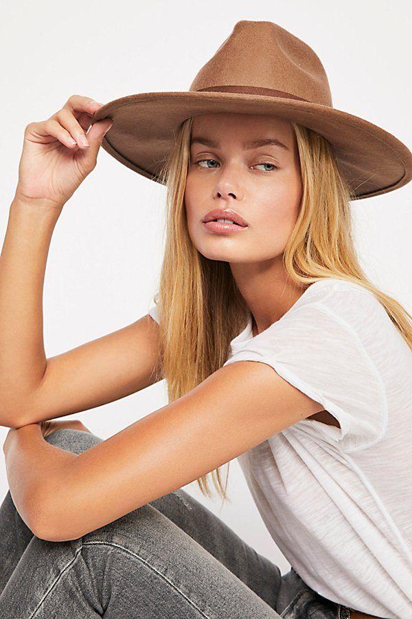 Womens fedora hat size S M L Felt fedora hat for women and for men Super chic orange felt fedora hat