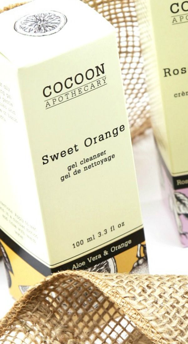 Sweet Orange Gel Cleanser – by CocoonApothecary.com