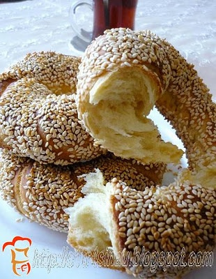 S i m i t (Turkish style bagel) making at home