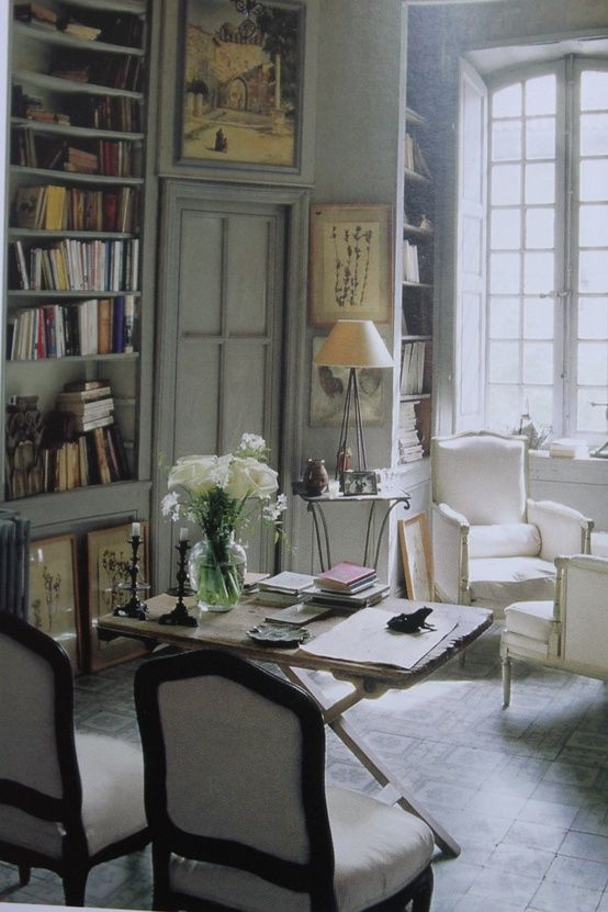 french country office. A Library With Originality And Personality. Beautiful Study Office French Country U