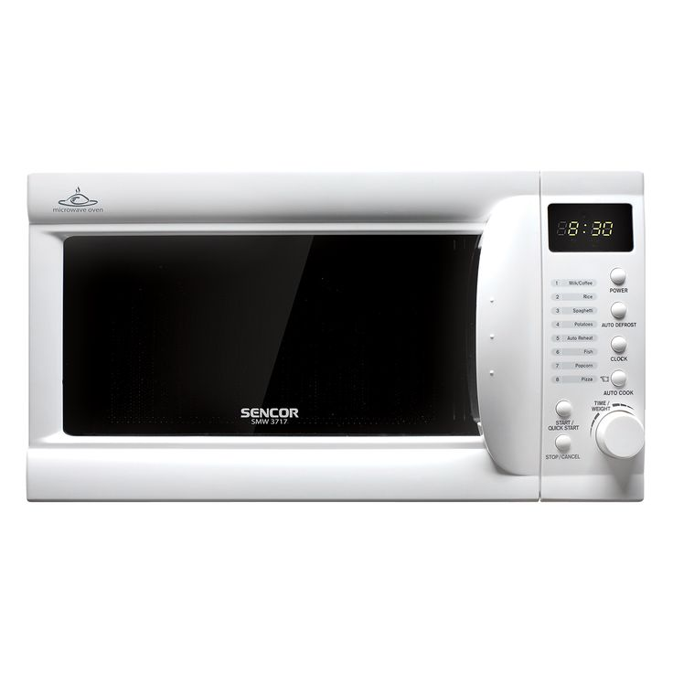 Microwave Oven SMW 3717 - Pre-programmed cooking (8 menus) - 5 microwave power levels - Quick start function