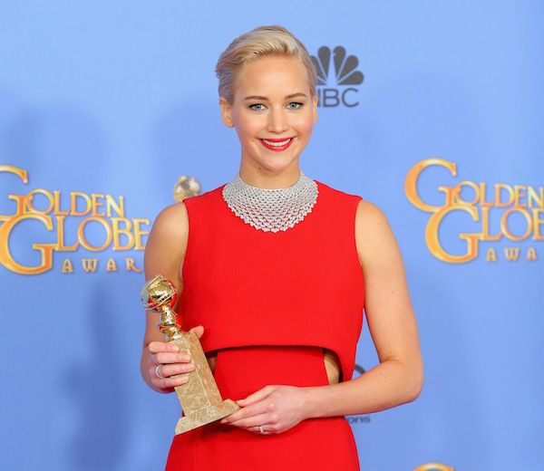 cool Jennifer Lawrence, Rooney Mara, More Wear Classic Red Lipstick To The Golden Globes: Beauty Buzz: Beauté: Mode & Style