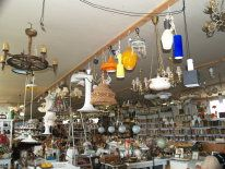 gamle brugte lamper standerlamper bordlamper lysekroner