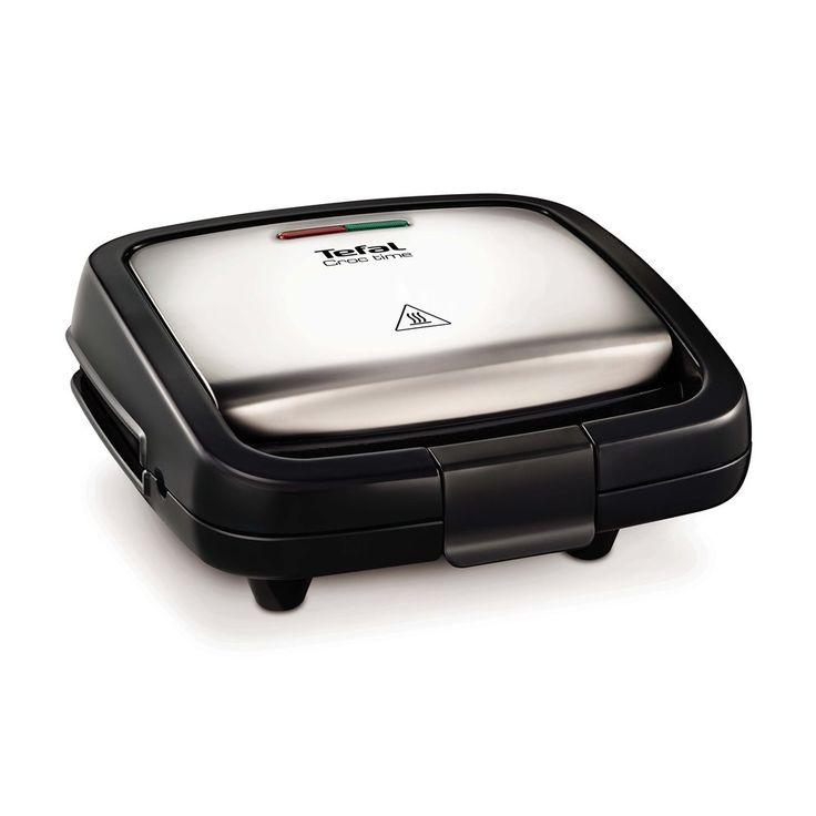 Een tosti, gegrild vlees of een combinatie van die 2. De Tefal SM193D Croc Time heeft ruimte voor 2 tosti's of panini's maar ook ander lekker van de grill. Het tosti-ijzer is makkelijk schoon te maken dankzij de antiaanbaklaag en berg je verticaal op.