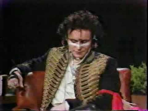 Adam and The Ants on Tom Snyder - Ant Music