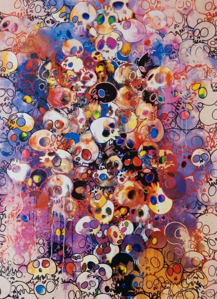 Takashi Murakami, I Have Left My Love Far Behind. Their Smell, Every Memento…
