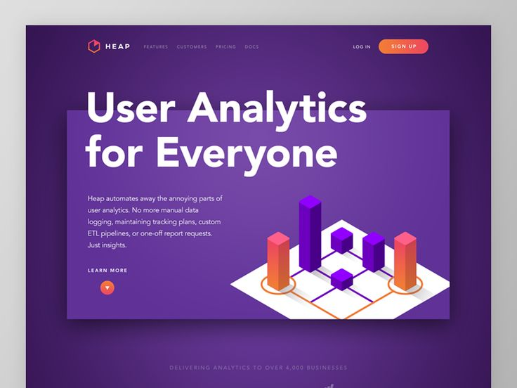 Heap Homepage Concept