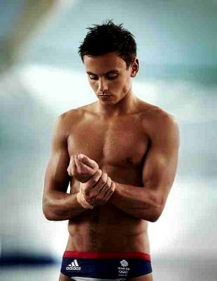 Tom Daley, Who care's if he's on the British Olympic dive team :)