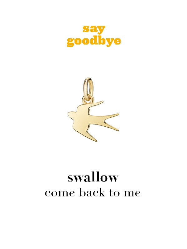 Dodo charm: swallow - come back to me