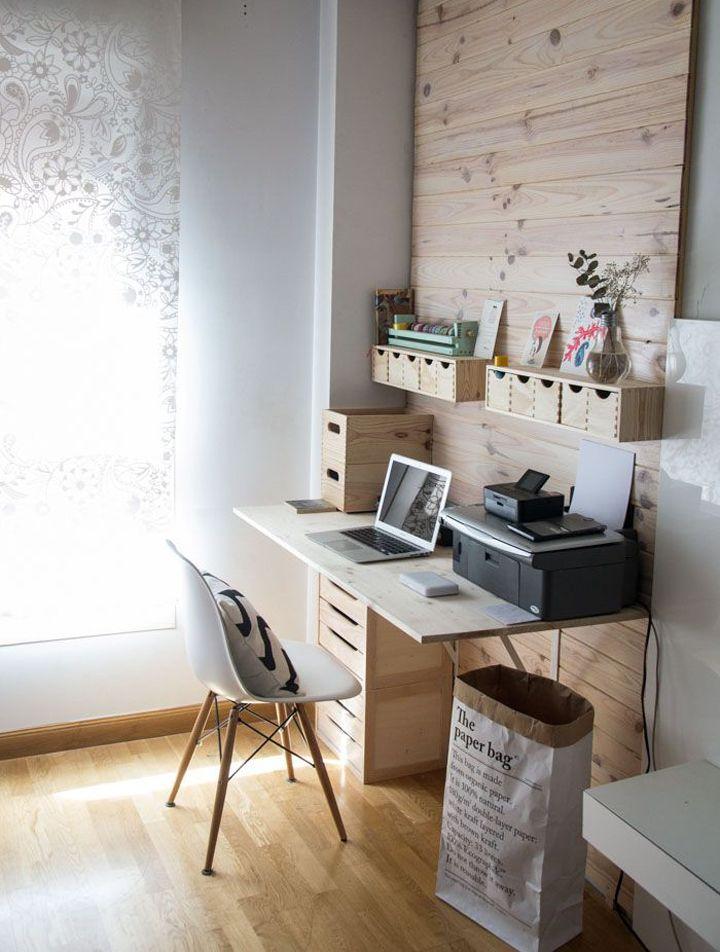 7 ideas para diseñar tu oficina en casa - Púrpura