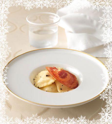 La Cucina Italiana - Avvento ricetta 2 dicembre - Ravioli con baccalà