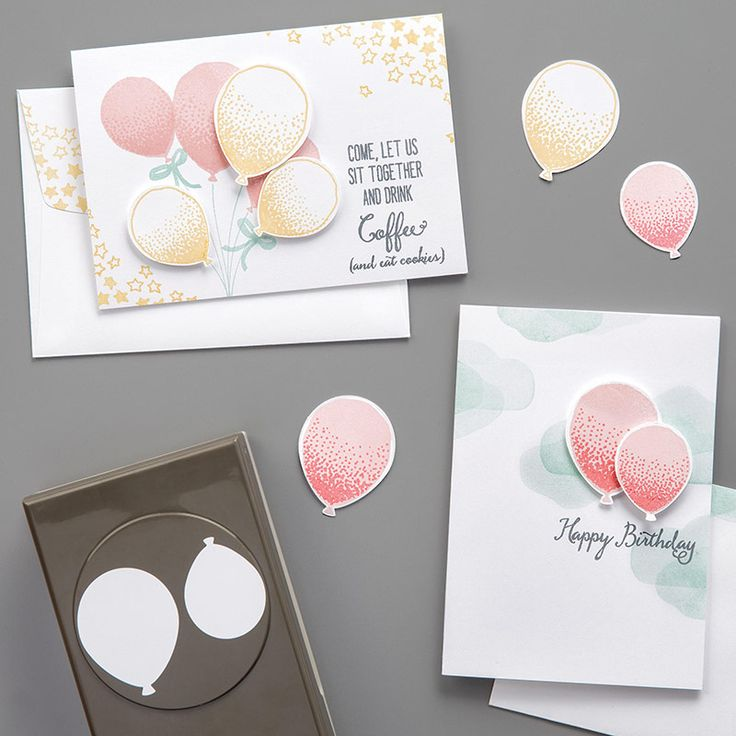 Balloon Celebration Photopolymer Bundle by Stampin' Up!