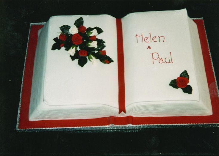 1000+ ideas about Open Book Cakes on Pinterest Book ...
