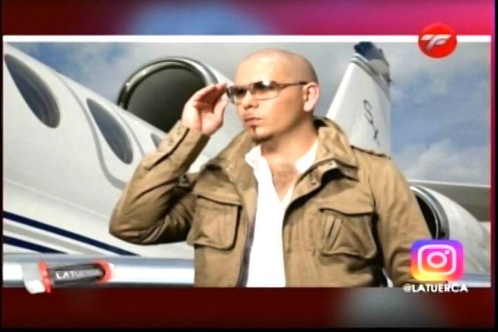 Pitbull Pone A Disposición Su Jet Privado Para Ayudar A Las Personas Afectadas Por La Tormenta María En La Isla Del Encanto