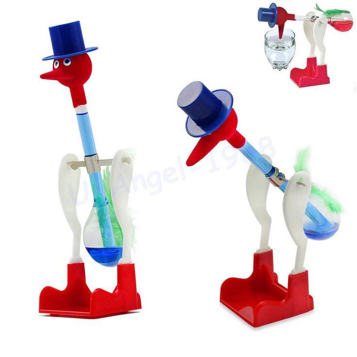 10pcs/lot Drinking Bird,USA ASTM certificate happy bird, perpetual motion bird ,children education toys+Free Shipping