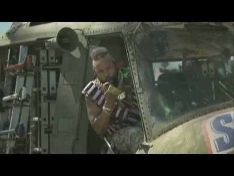 Mr. T / Snickers Helicopter and Pool Advert: Mr. T is Back! - YouTube