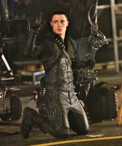 Arrow - Colton Haynes as Arrow