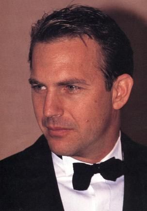 Kevin Costner, he is the most attractive man alive! Well...one of them :) *sigh*