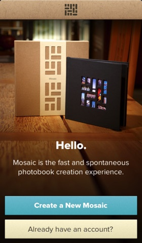Mosaic app to create a book of memories- super simple!! all you do is choose 20 pictures from your iphone, arrange them anyway you like, and it come to your door 4 days later!!