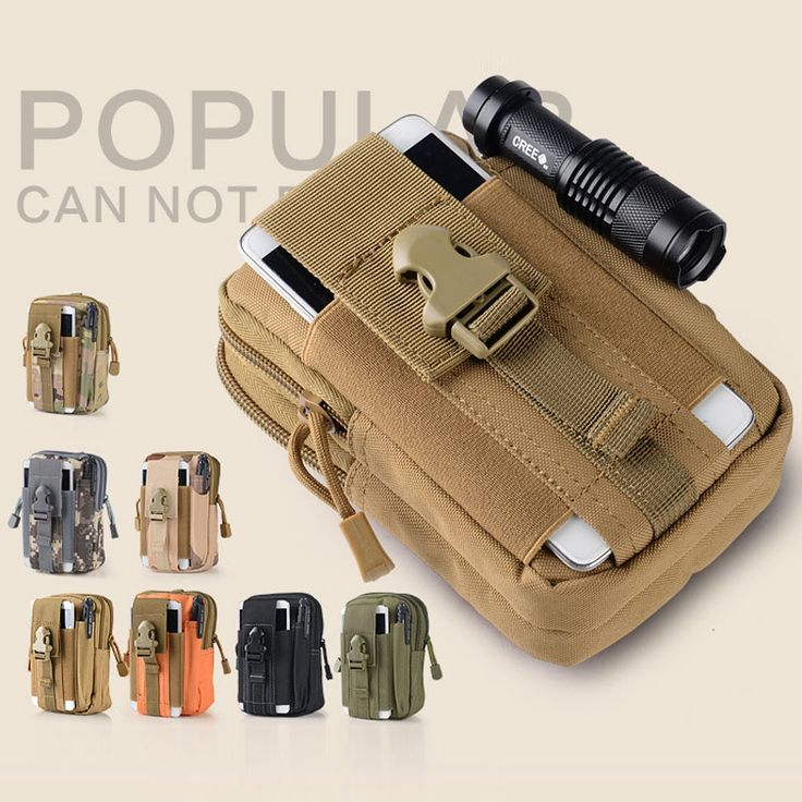 Universal Outdoor Military Tactical Holster Molle Hip Belt Bag Wallet Pouch Waist Phone Case For lg g5 k10 g4 g3 g2 x power