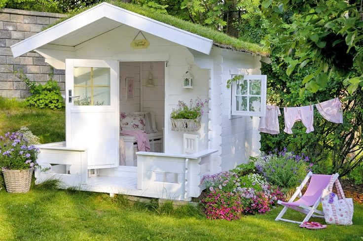 casinha de boneca quintal