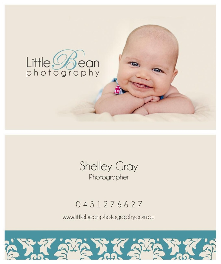 New business cards - Little Bean Photography