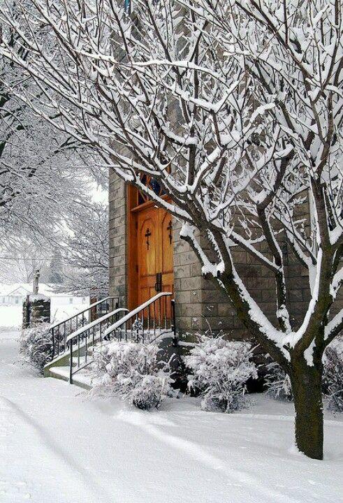 Lovely winter scene