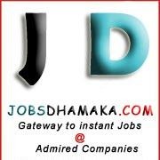 Jobs Dhamaka is one of the best jobs portal for Jobs dhamaka and also providing various jobs and vacancies for freshers and experienced in accountant in India.