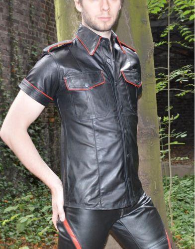 Nueva-camisa-de-cuero-con-tubos-la-policia-estilo-camisa-de-cuero-gay-motorista-lederhemd