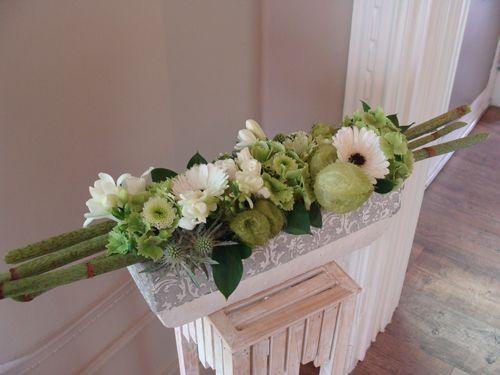 17 beste idee n over altaar bloemen op pinterest for Trouwdecoratie zelf maken