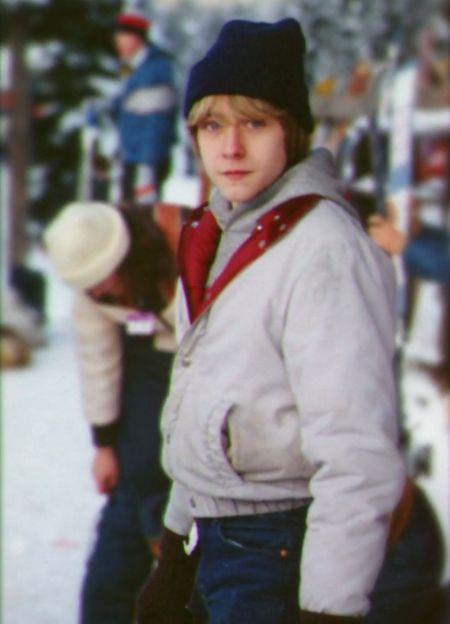 Teenage Kurt Cobain