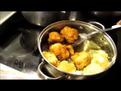 Cooking With Marie: Marinad Poul (Chicken Fritter) Haitian Recipe - YouTube