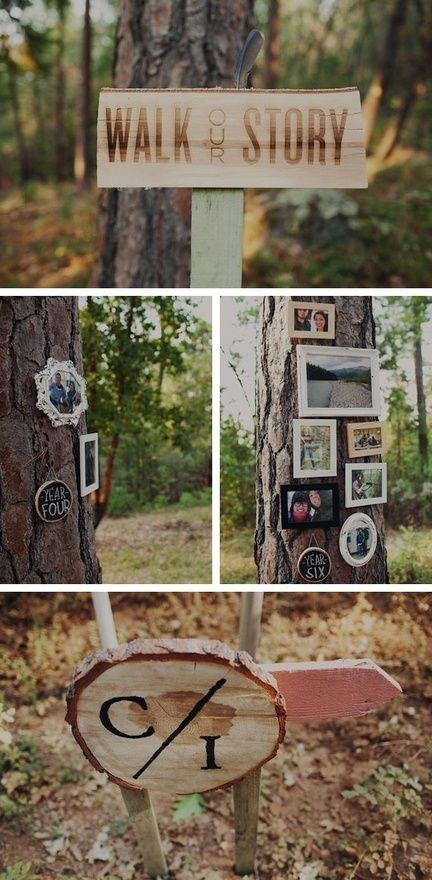 10 DIY Photo ideas for your wedding decor and details | Wedding Party