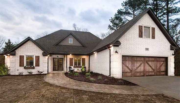 3 Bed House Plan with Brick Exterior and Bonus Over Garage - 70545MK   Architectural Designs - House Plans