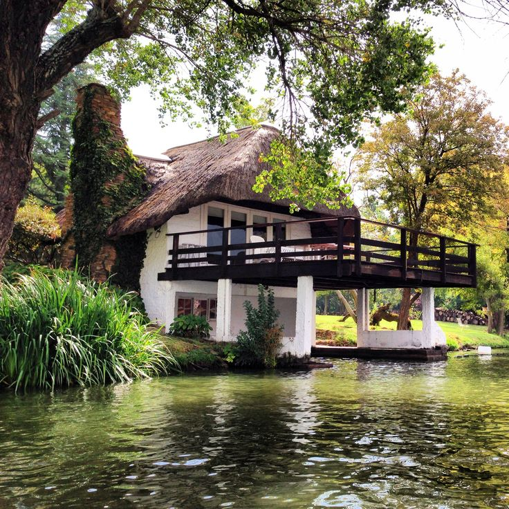 Heritage boat house, Vaal river.