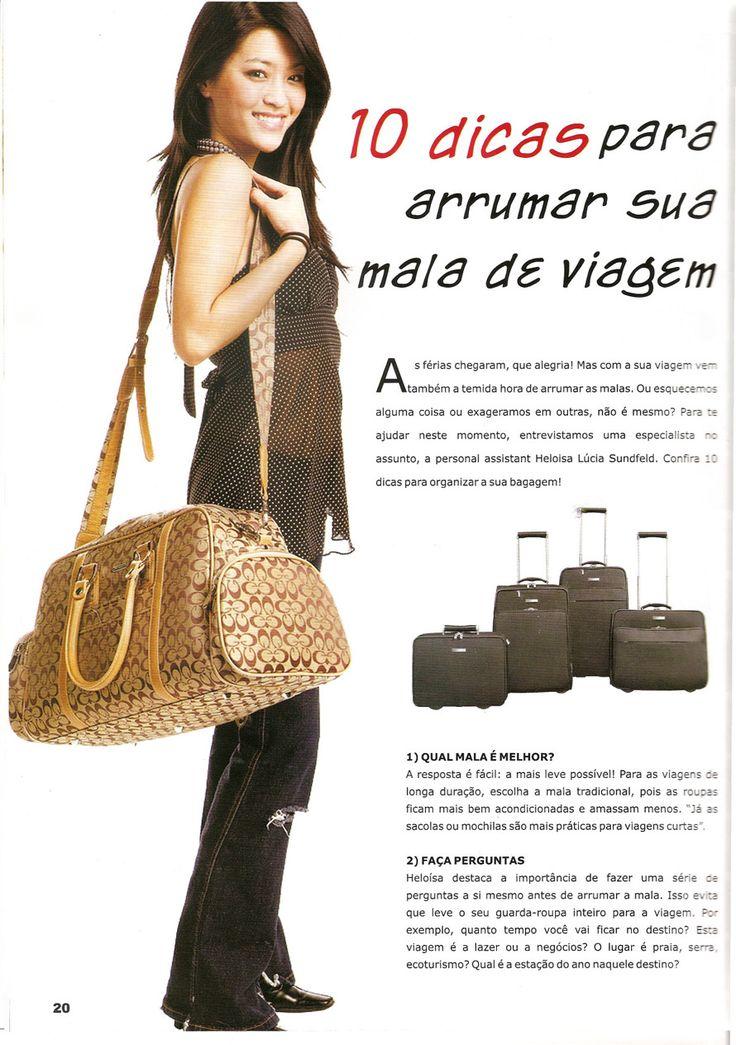10 dicas para arrumar a sua mala de viagem | Help