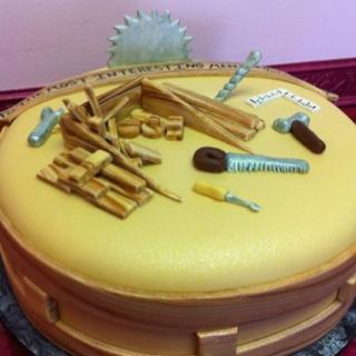 Wood Shop Cake! Shockley's Sweet Shoppe