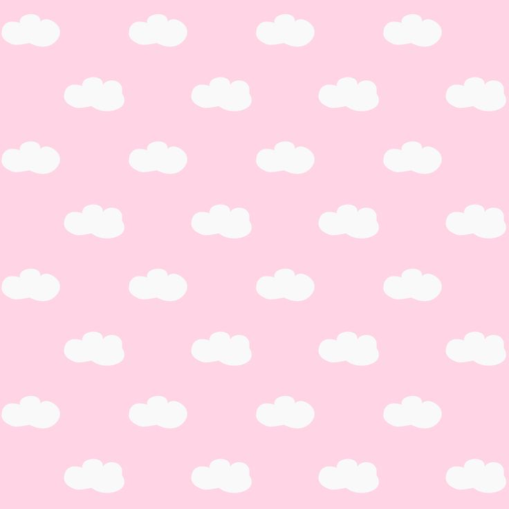 Free printable pink sky with clouds pattern paper