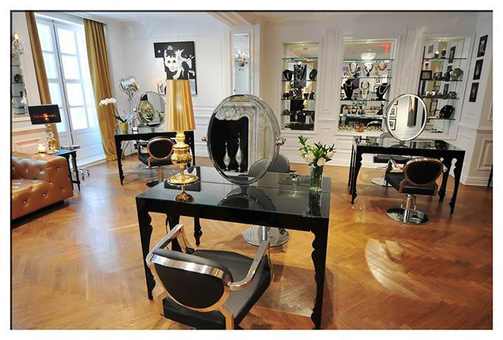 Take a virtual tour of l appartement hair boudoir an for 5th avenue beauty salon