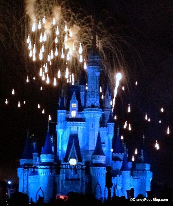 Tips for scheduling dinner around fireworks:  Wishes at Magic Kingdom