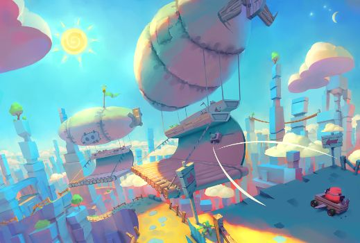 the concept of vectors in the game angry birds An angry birds empire: games, toys, movies and now an ipo by photo rovio entertainment's angry birds game has led to a series of sequels, a line of toys and clothing, and a the game's idiosyncratic concept now has several spinoffs that rank among the most.