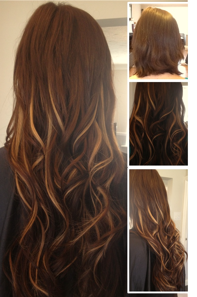 Micro Ring Hair Extensions in Chicago | Skin Skin Weft Hair | Fusion Hair | Great Lengths Hair  | Chicago Hair Extensions Salon 773.996.0533