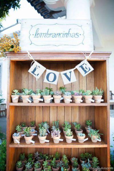 Como decorar seu casamento com suculentas em 2016 Image: 1