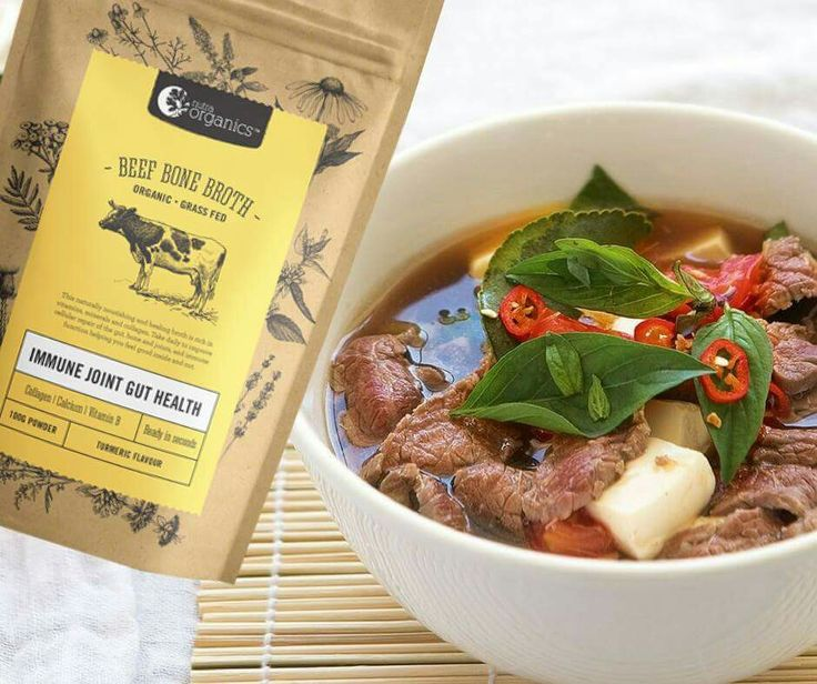 *** NEW PRODUCT *** - Nutra Organics Beef Bone Broth Powder is rich in minerals that support the immune system & contains healing compounds like collagen, glutamine, glycine and proline. #Collagen heals your gut lining and reduces intestinal #inflammation. This broth makes a nourishing drink in seconds, by just adding boiling water! Please check our shop for details: www.paleochoice.co.nz