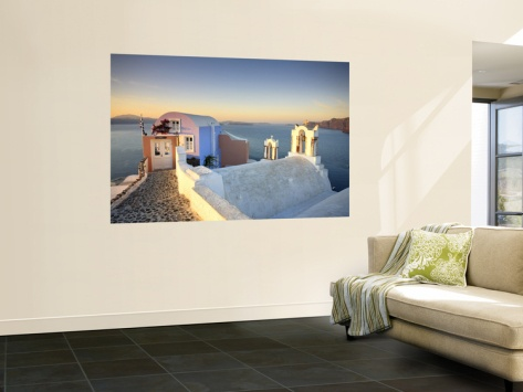 1000 ideas about santorini caldera on pinterest greece for Caldera mural orbis