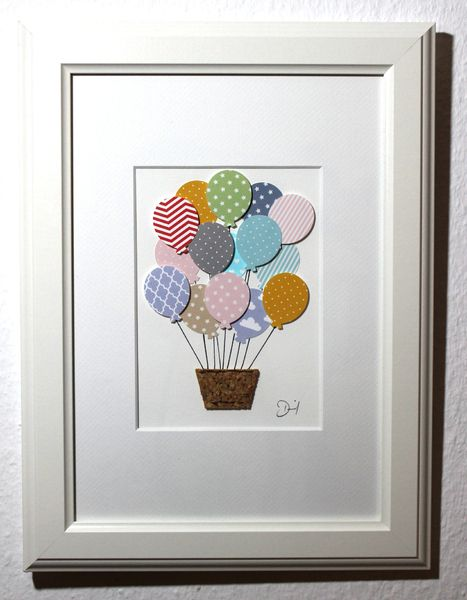 Bild Heißluftballon, Kinderzimmer, Babyzimmer von Bellyys - Handgefertigte Liebe - Bestseller - Design Unikate - Genähtes und mehr... Für klein und gross! auf DaWanda.com