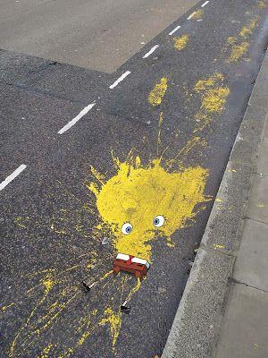 Sponge Bob splatt pants