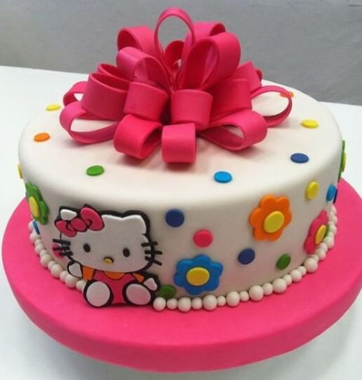 25 best HK cakes images on Pinterest Hello kitty cake Cakes and